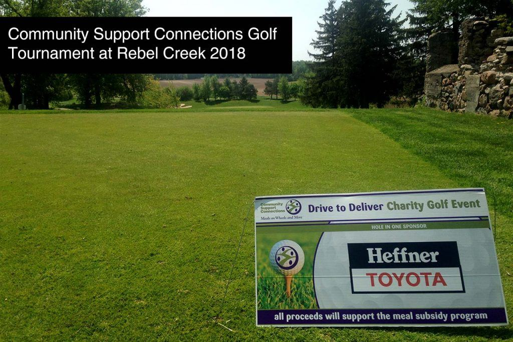 Community Support Connections_Meals on Wheels Golf Tournament