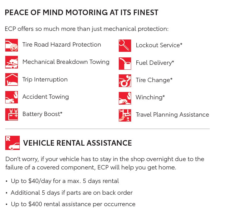 Peace of Mind Motoring with ECP at Heffner Toyota