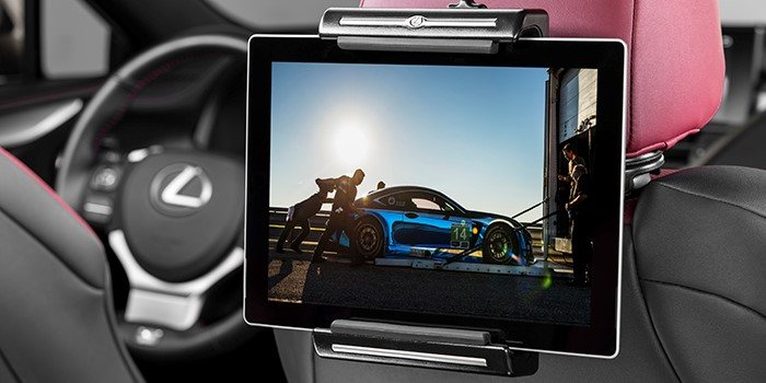 Lexus Universal Tablet Holder for $125 + Tax